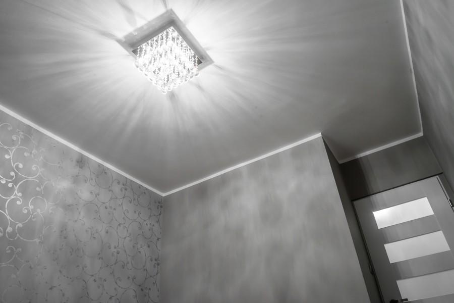 Białystok, Malowanie sufitu, Oświetlenie Sypialna, Białe drzwi
